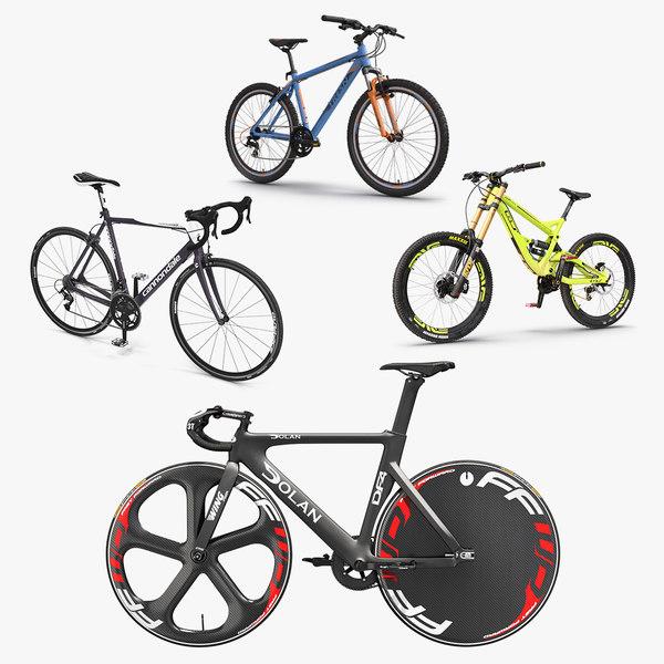 modern bikes 2 3D