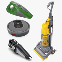 vacuum cleaners 3 cleaning 3D