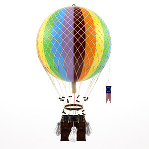 3D royal aero balloon
