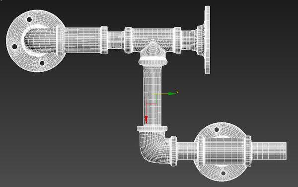 modular pipe 3D