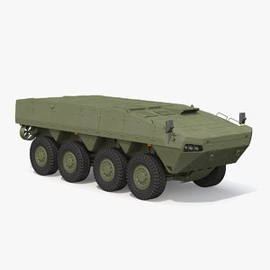 3D patria amv base hull