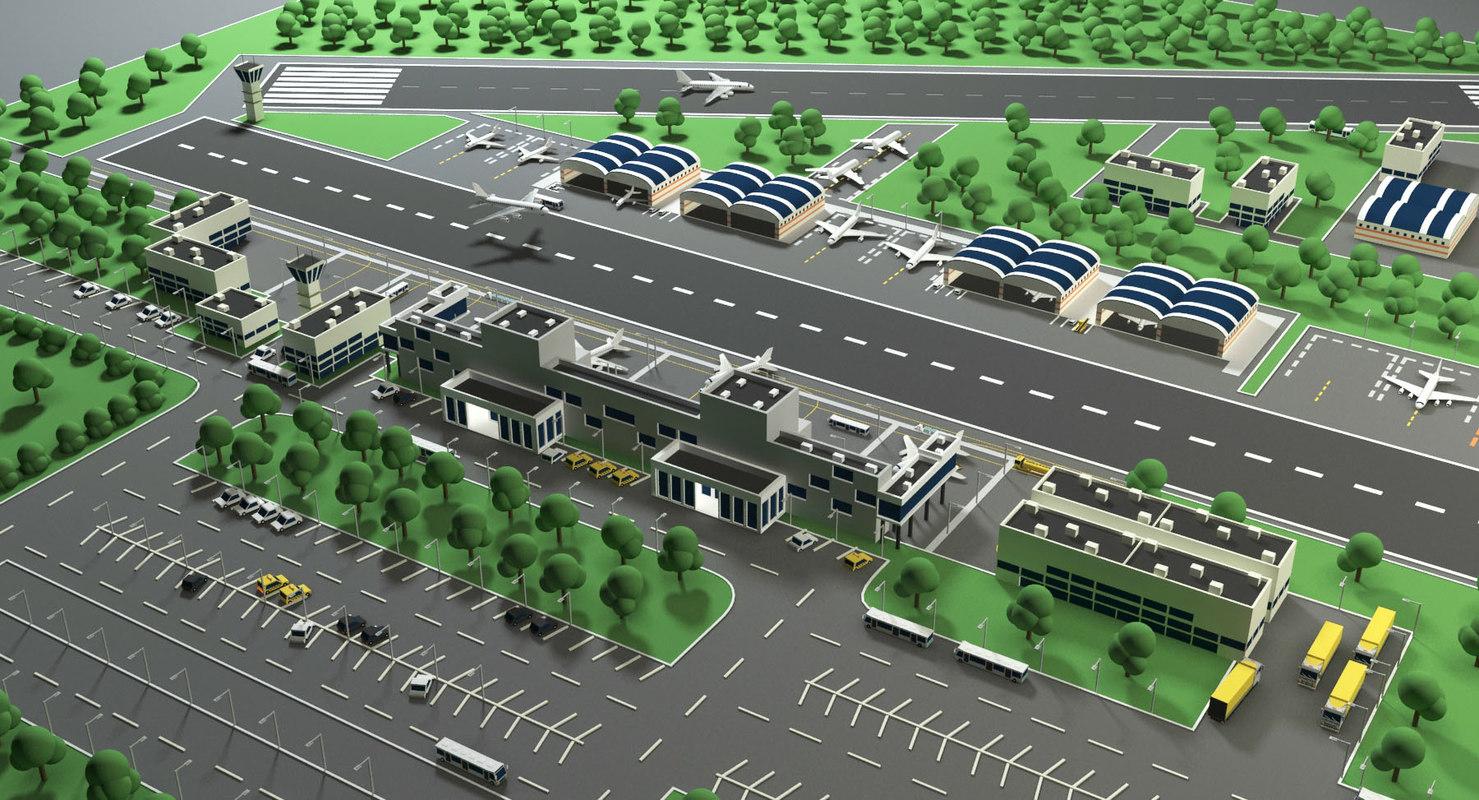 airport air 3D