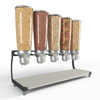 IDM 5 Canisters Cereal Dispenser