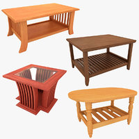 Wooden Teapoy Table Collection
