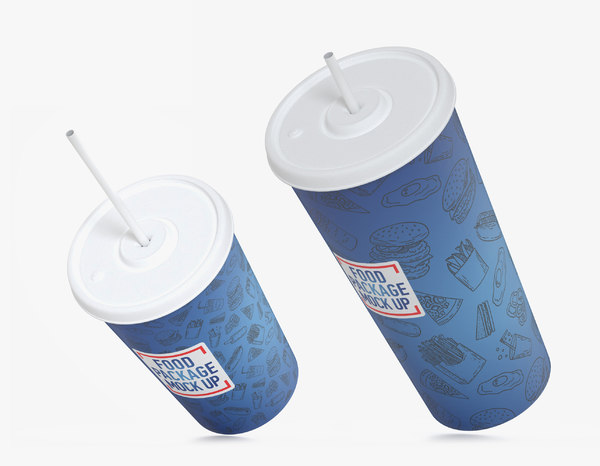 3D drink cups 330 500