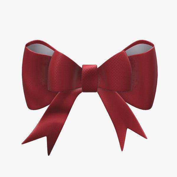 ribbon knot 3D model