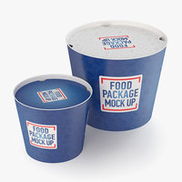 fast food buckets model