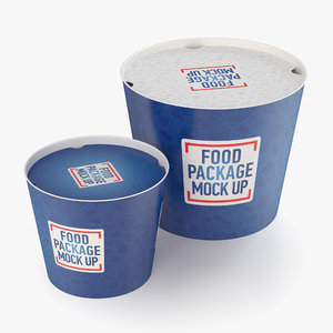 fast food buckets model