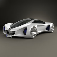 3D mercedes-benz biome mercedes