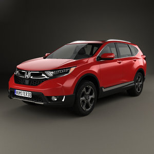 3D honda cr-v touring model