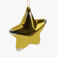 fir tree decor 3D model
