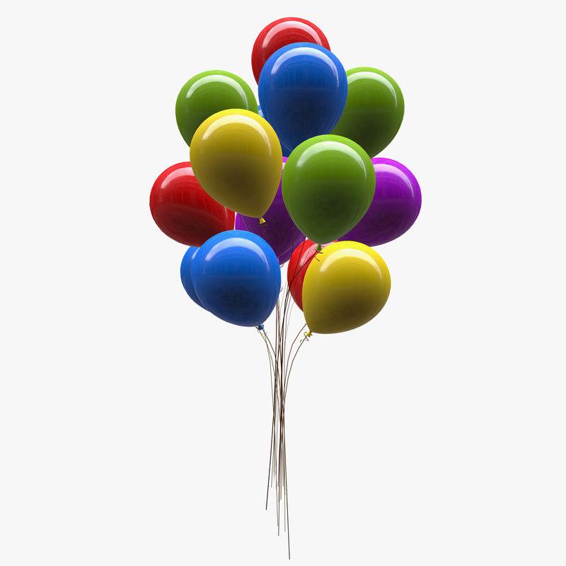 3D balloon model