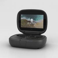 3D gopro controller pro model