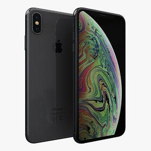 apple iphone xs space model
