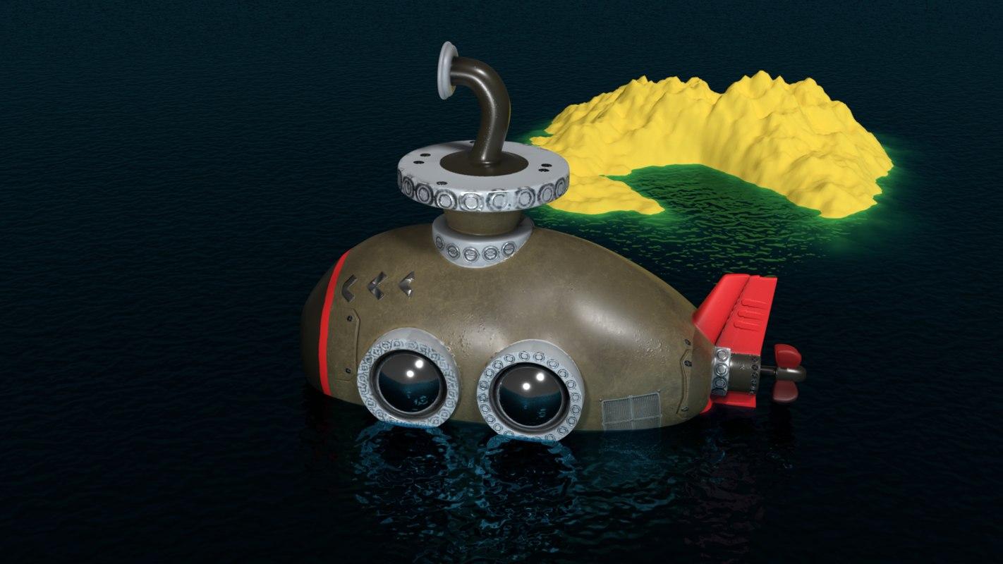 submarine games 3D