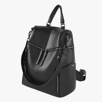 uto women rucksack 3D