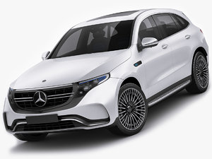 3D model mercedes eqc eq