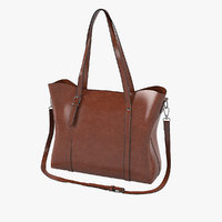 sifini women fashion bag 3D model