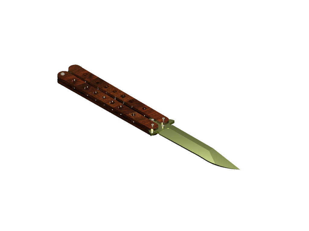 Cuchillo Mariposa