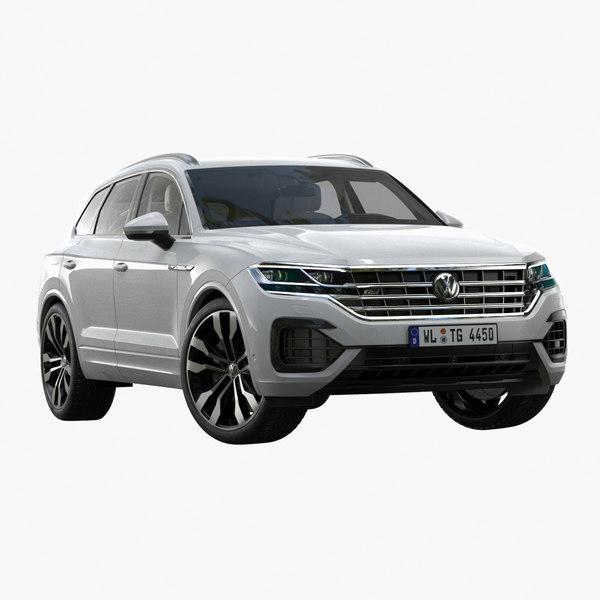 3D 2019 volkswagen touareg