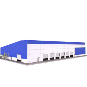 3D model logistics building