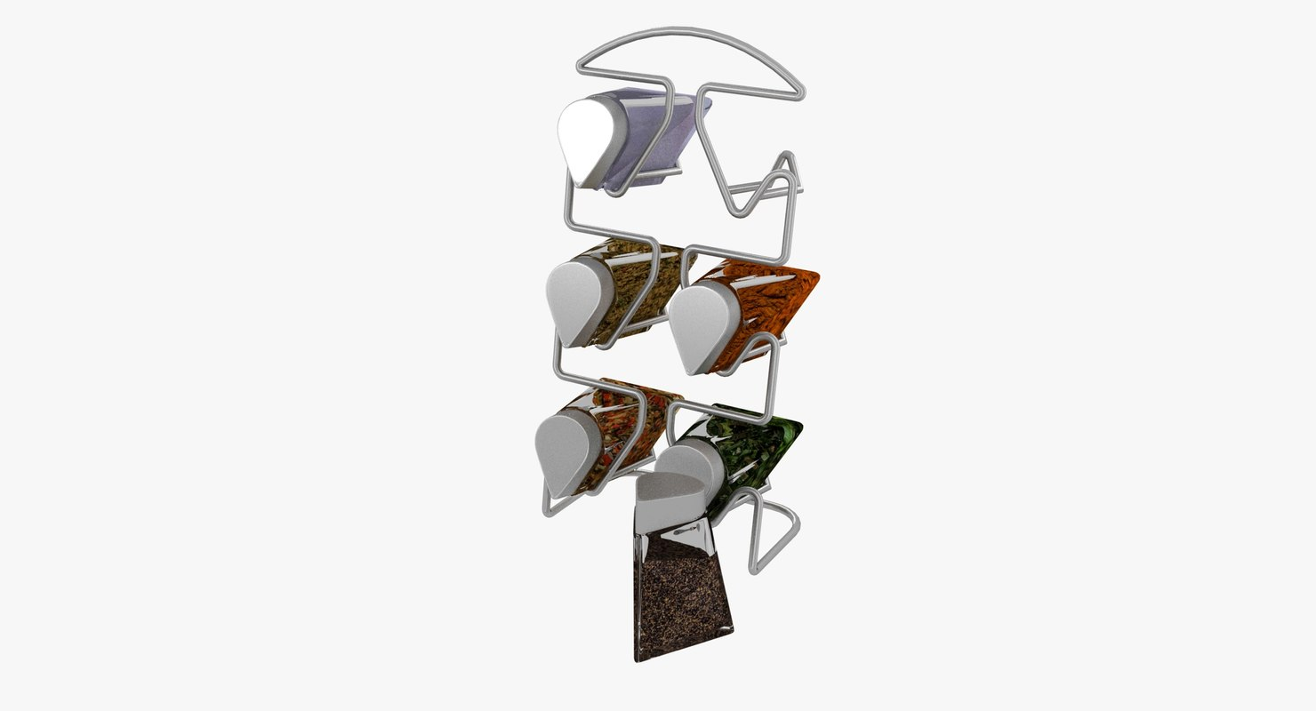 spicer rack aluminium drop 3D model
