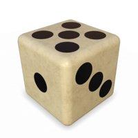 3D model bone dice