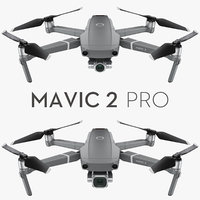 DJI Mavic 2 Pro and Zoom