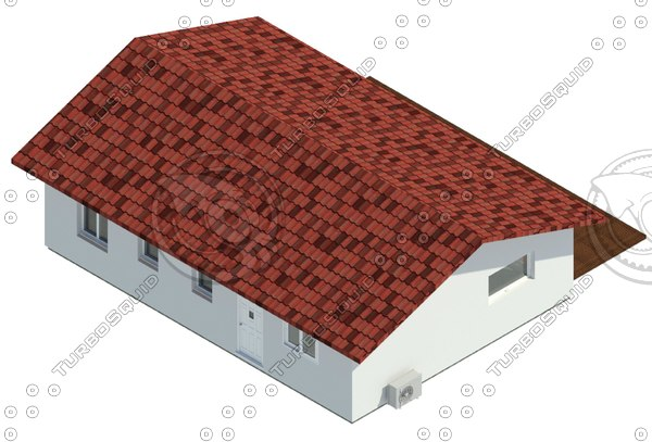 01 energy efficient residential 3D model