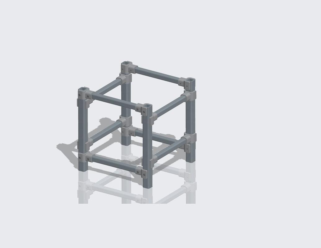 amp rack 3D model