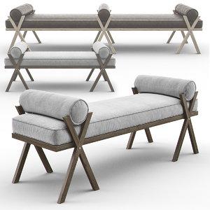 3D bench camp keystone