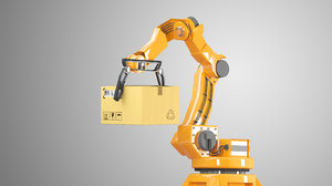 robot arm manipulator 3D