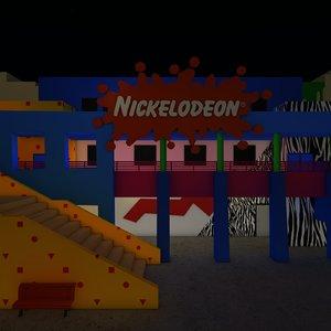 nickelodeon studios 3D model