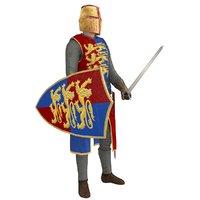 rigged knight helmet model