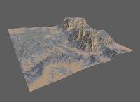 landscape terrain 3D