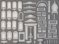 Exterior Decorations - 58 pieces