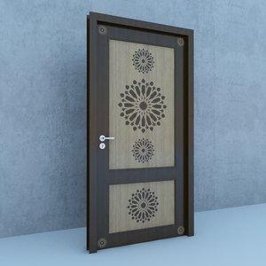 traditional moroccan door architecture model