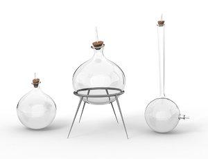 chemistry bowls model