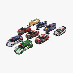 pack fia world rally 3D