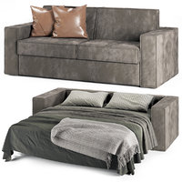 felis kurt sofa bed 3D model