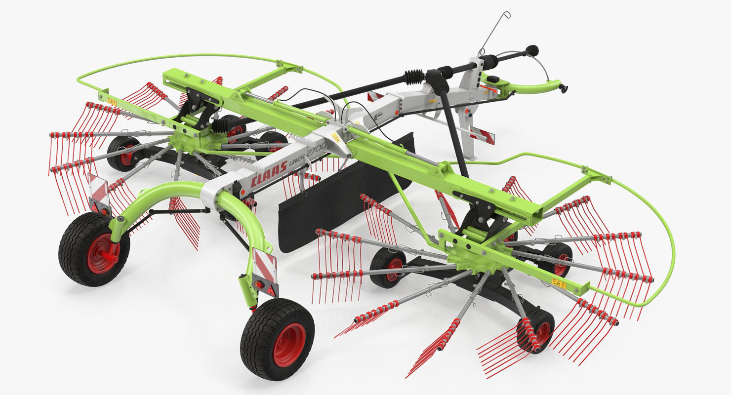 twin rotor hay rake model
