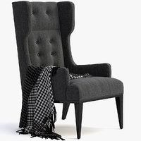 3D idol wing chair