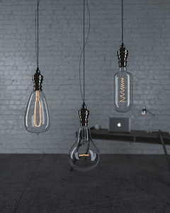 3D incandescent lamps model