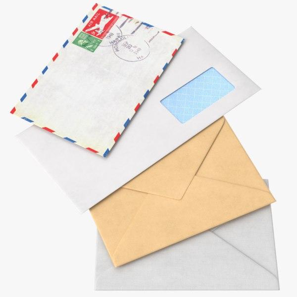 real envelope 3D