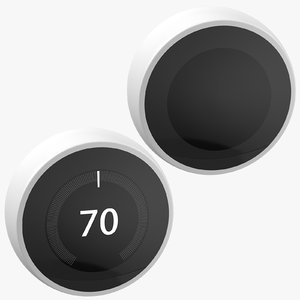3D model generic thermostat