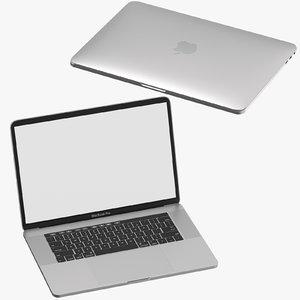 apple macbook pro open 3D model