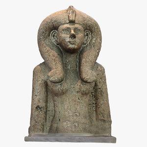 egyptian goddess 3D