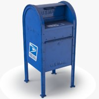 Mail Box With Envelopes