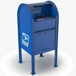 mail box envelopes model