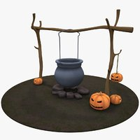 halloween decoration 3D model
